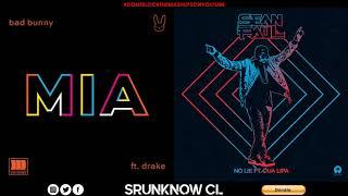 Bad Bunny, Drake, Sean Paul, Dua Lipa   Mia  No Lie (Mashup)