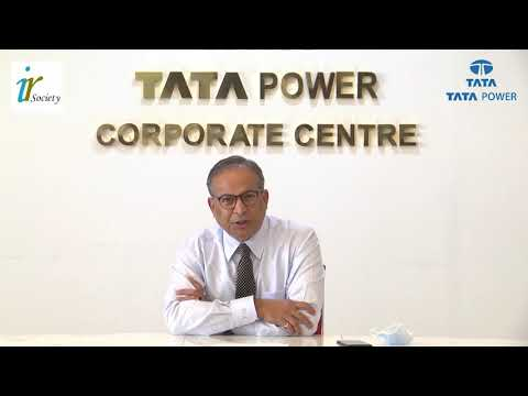 Dr Praveer Sinha, CEO & MD, Tata Power Accepts the Investor Relations Award 2020
