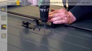 pose et recoupe espagnolette alu par sur-mesure-pro.fr