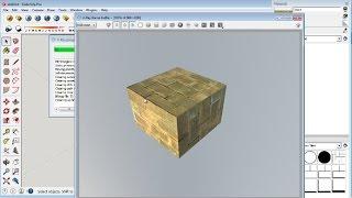 Sketchup Material Mapping Editing