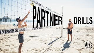 5 Beach Volleyball Drills - With Just Your Partner
