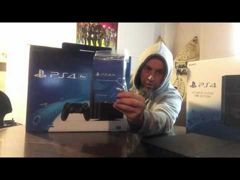 UnBoxing: PS4 Pro 1TB vs PS4 ULTIMATE Player 1TB Edition!