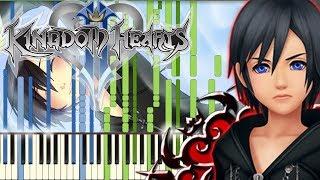 Kingdom Hearts - Musique pour la Tristesse de Xion [Piano Tutorial] (Synthesia)