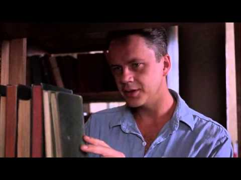 Shawshank Redemption - Library scene, Randall Stephens to had to be in prison to be a crook