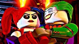 LEGO DC SUPER VILLAINS - All Joker & Harley Quinn Cutscenes