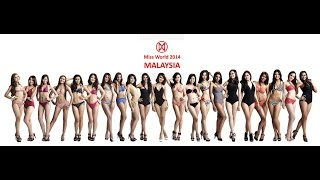 Miss Malaysia World 2014 preliminary interviews of the finalists