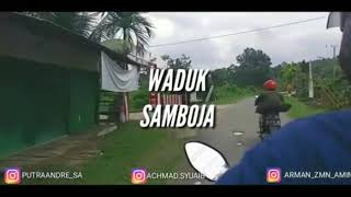 preview picture of video 'Jalan jalan Di Waduk Samboja. Dengan Sahabat'