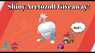 Arctozolt  - (Pokémon) - Pokemon Sword/Espada & Shield/Escudo: Shiny Arctozolt Giveaway! ⚡🦖❄ De Regalo! :v