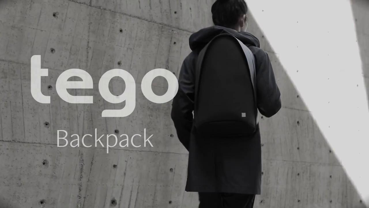 Рюкзак Moshi Tego (Stone Gray) 99MO110261 video preview