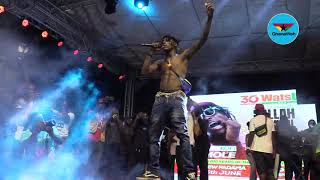 Kofi Mole Performs 'Don't Be Late' At Fadama Salahfest