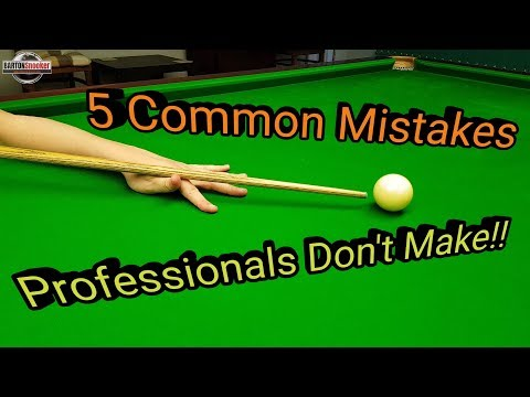 Snooker Training - The Basics - Coaching Lesson download