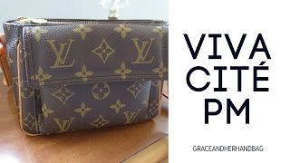 Handbag Review | Louis Vuitton Viva Cite PM | Small Monogram Crossbody
