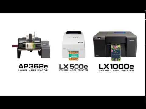 Primera Colour Label Printer - LX1000e video thumbnail