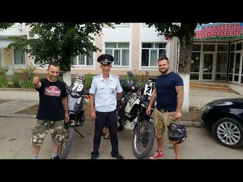 suzuki dr 800 big Russia Caucasus part. 7