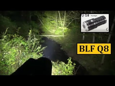 BLF Q8 Flashlight Review 5000LM 450M – Impressive Balance of Capabilities
