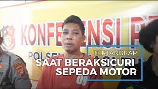 Pencuri Motor di Bekasi Tertangkap, Uang Curian untuk Main Judi Online