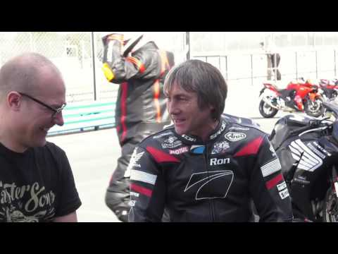 Ron and 20 years of running the race school and his love of riding bikes