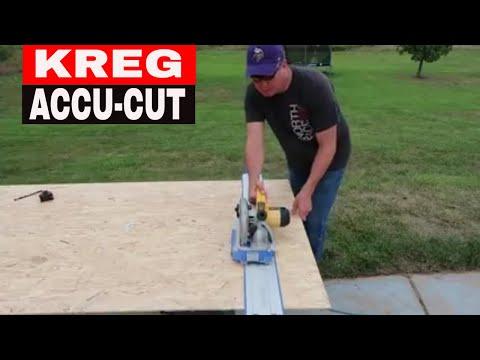 KREG ACCU-CUT CIRCULAR SAW GUIDE – TOOL REVIEW TUESDAY