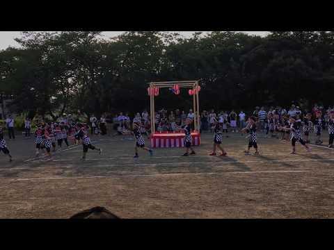平成30年度 みなみ保育園 夏祭り すみれ組によるソーラン節