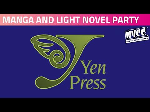 The Yen Press Manga and Light Novel Party