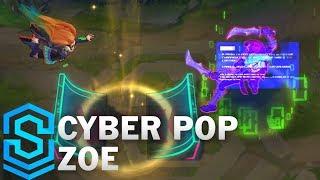 Cyber Pop Zoe Skin Spotlight - Pre-Release - League of Legends