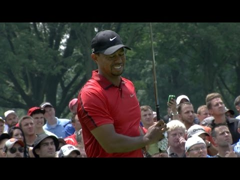 Tiger Woods withdraws due to apparent injury at Bridgestone