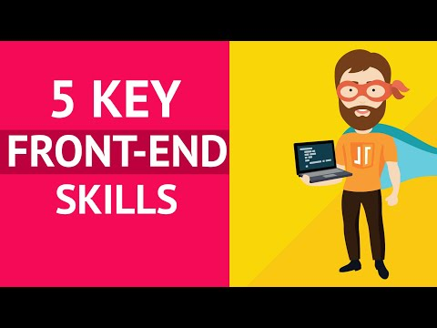 5 Front-end Development Skills to Land Your First Job