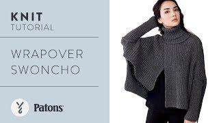 Knit Sweater Tutorial: Make A Wrapover Swoncho