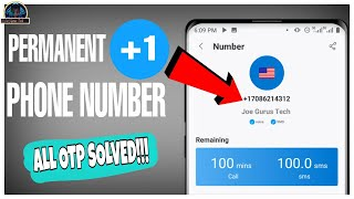 How to get Free Permanent USA Phone Number for Verification 2021