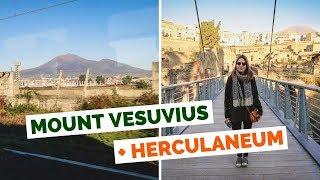 Mount Vesuvius and Herculaneum Day Trip in Naples, Italy