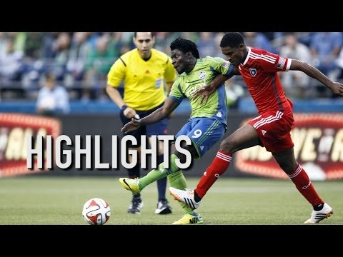 Obafemi Martins Scores From Incredible Angle