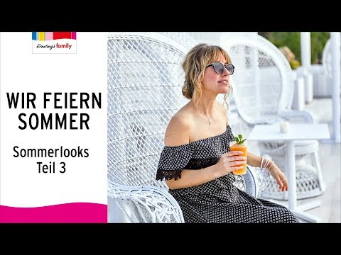 WIR FEIERN SOMMER | Ernsting's family | SOMMERLOOKS TEIL 3