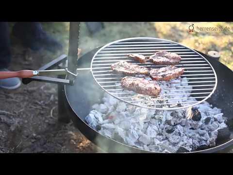 Grillschale Bulyfire® | Feuerschale und Grill in einem | herrenseite.de