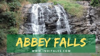 Abbey Falls near Madikeri in Coorg