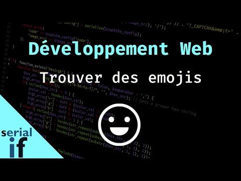 Développement Web - Trouver des Emoji