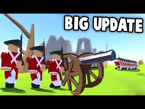 CANNONS & New Weapons! CHARGE! (Rise of Liberty New Update Gameplay - Revolutionary Ravenfield!)