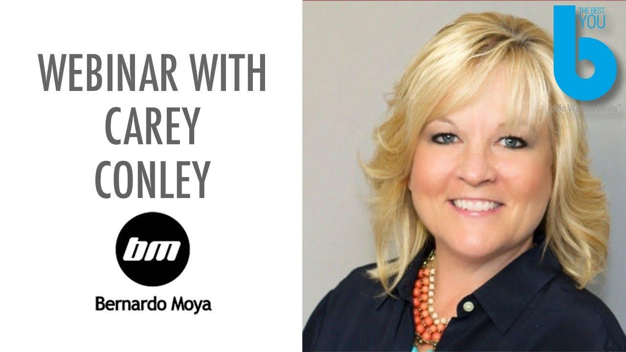 Seminario web con Carey Conley