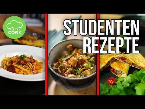 Studentenküche | 3 einfache Rezepte für Studenten unter 5€