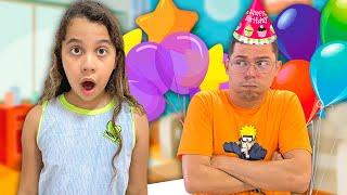 Sarah e o aniversário do papai | Sarah and Dad's Birthday