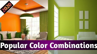 Interior Color Combinations 2020| Bedroom Color Combinations| Bedroom Paint Colors Ideas