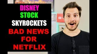 Disney Stock Skyrockets on Disney Plus Announcement. 1 Stock is SO DONE