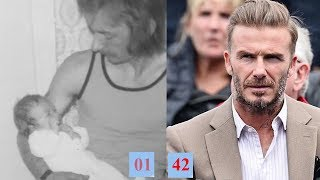 David Beckham Transformation From 1 To 42 Year Old
