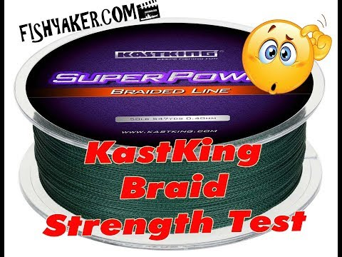 KastKing SuperPower Braid Fishing Line Strength Test: Episode 633