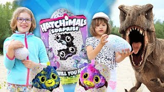 Ratujemy jaja Hatchimals Suprise Bliźniaki, Spin Master