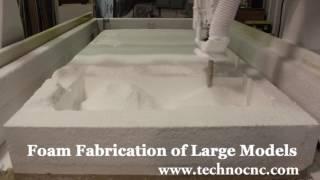Techno CNC Foam Cutting Machine