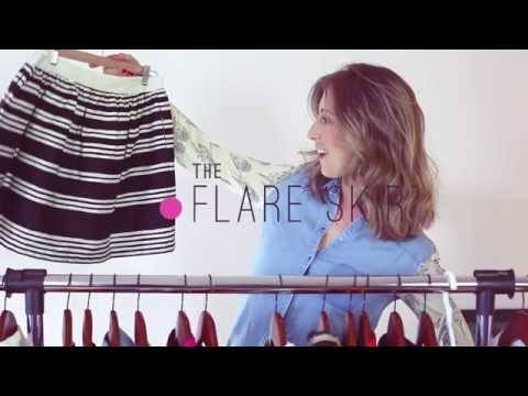 5 Ways to Wear the Flare Skirt