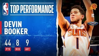 Booker LIGHTS IT UP, Drops 44 PTS!