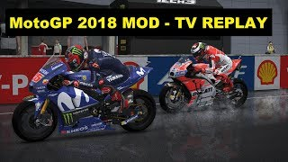MotoGP 2018 Mod | GP MALAYSIA | Jorge Lorenzo | TV REPLAY GAME |