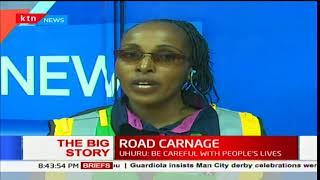 The Big Story: President Uhuru Kenyatta cautions road users