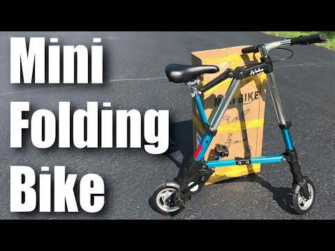 VEVOR Portable Folding Aluminum Mini Bike with 8 Inch Wheels Review